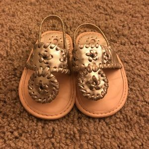 Infant Jack Rogers Sandals - Platinum